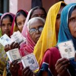 People are casting their votes in Bihar election