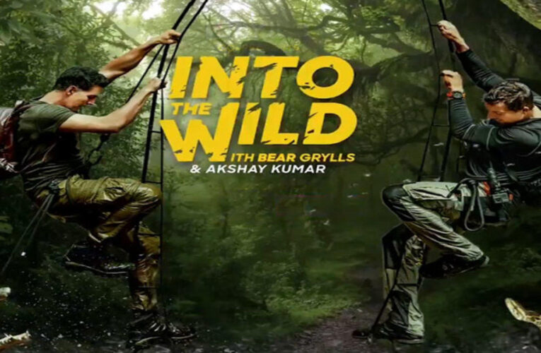 Akshay Kumar and adventurer Bear Grylls set out on a classic military-style mission